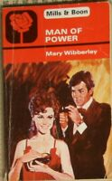 Man Of Power, Webber, Meredith,Wibberley, Mary, Very Good Book