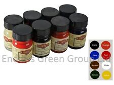 Liberon Concentrated Water Wood Dye - Toy Safe Vibrant Colour dyes  8 x 15ml Set