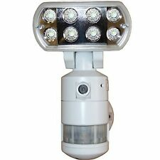 Versonel Nightwatcher Pro LED Security Motion Tracking Flood Light w/Camera&WiFi