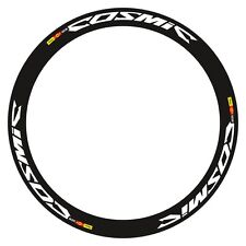 MAVIC COSMIC SLR DECAL SET FOR TWO WHEEL WHITE