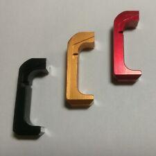 Extended Aluminum Magazine Release for Glock Gen4/5, Black/Red/Gold