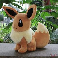 12'' Pokemon Plush Pocket Monster Eevee Anime Toys Soft Stuffed Doll Kids Gifts