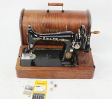 Vintage Singer 99K Hand Crank Sewing Machine c1910s  [5776]