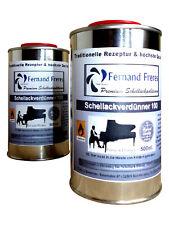 1L Schellack Verdünnung Spiritus Polier Alkohol Verdünner Ethanol Lösemittel