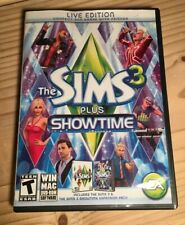 EA Sims 3 Plus Showtime (Windows/Mac, 2012)