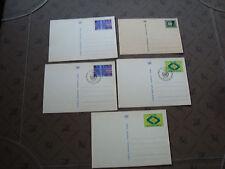 LAS NACIONES UNIDAS (postal- ginebra) - 5 folios entero (cy81) united NATIONS