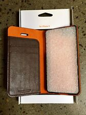 Iphone 5 Brown Buffalo Leather Case by LIAAIL
