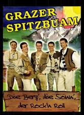 Grazer Spitzbuam Autogrammkarte Original Signiert ## BC 95862