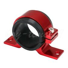 Red 45 to 50mm Fuel Pump Mounting Bracket Single Filter Clamp Holder