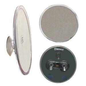 7X Suction Cup Magnifying Mirror Great for Bathroom Mirror or Shower - New