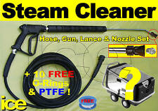 15m KARCHER COMMERCIAL PROFESSIONAL PRESSURE WASHER STEAM CLEANER SWIVEL HOSE 2W