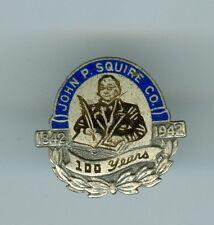 1842-1942 Enameled 100th Anniversary John P. Squire Company Pin