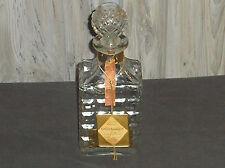New listing 1966 Cut Crystal Whiskey Decanter Liquor Bottle Lewis S. Rosensteil