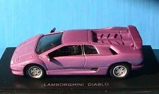 LAMBORGHINI DIABLO METALLIC PURPLE UNIVERSAL HOBBIES 1/43 VIOLET METALLISE