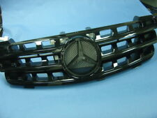 BLACK FRONT GRILL FOR 2005-2008 MERCEDES BENZ ML W164 M-CLASS (STAR NO INCLUDED)
