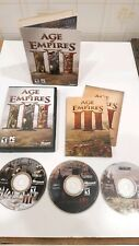 Age of Empires III PC Game 2005 for Windows XP 3 Discs and Manuals Product Key