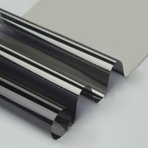 One Way Mirrored Silver Window Film Home Tint Heat Control UV Foils 5x33ft Roll