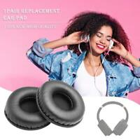 1 Pair Universal Foam Leather Headband Cushion Replacement Headphone Ear Pads