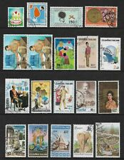 THAILAND mixed collection No.40, used
