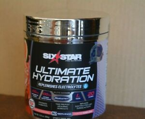 ULTIMATE HYDRATION SIX STAR REPLENISHES ELECTROLYTES ( 50 SERVINGS ) MUSCLETECH