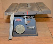 Rare 1930's Craftsman 103 0211 pattern makers saw bench top cabinet vintage tool