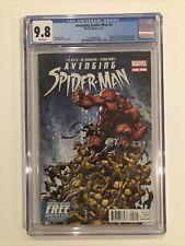 Avenging Spider-Man #2 CGC 9.8 Joe Madureira 2012 Red Hulk