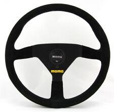 Momo Suede Sports Steering Wheel Model Mod. 78 13 25/32in Black Ant.