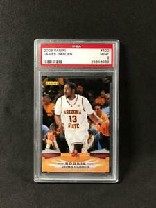 James Harden Panini Rookie Card PSA 9 NBA Card