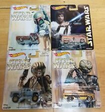 HOT WHEELS ~ STAR WARS ~ POP CULTURE ~ VW Drag Truck ~ GMC ~ CHEVY ~ LOT OF 4