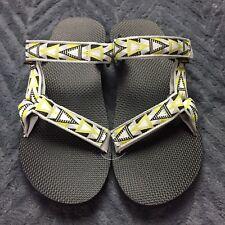 ac5bf31bb942 Teva Original Universal Slide Sz 12 Flip Flop Sandal Mosaic Gray Men New  1010171