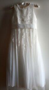 JOHN ROCHA First Holly Communion Dress Wedding Babtism Christening size 11years