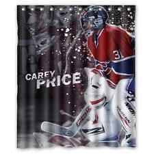 "Carey Price Montreal Canadiens Hockey Waterproof  60"" x 72"" Shower Curtain Bath"