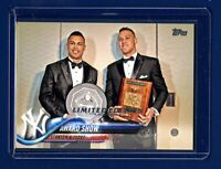 2018 Topps Limited Tiffany JUDGE & STANTON AWARD SP ! Less than 1k made!! 🔥 WOW