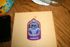 1x ATLANTIS  STS-117 ANDERSON  SPACE  PATCH  3 1/2 INCHES