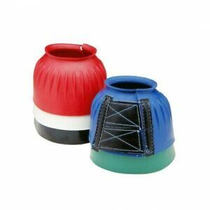 Tough 1medium Green pro guard bell boots horse tack 66-24277