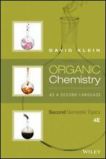 Organic Chemistry as a Second Language by David R. Klein (2016, Paperback)