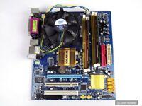 PC Aufrüstkit Gigabyte GA-G31MF-S2 + Intel E8400 aktiv + 2 GB DDR2 RAM - 100% OK
