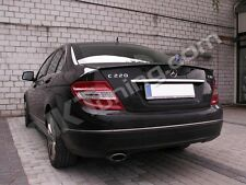 Mercedes C-Class W204 Rear boot spoiler Saloon (1276)