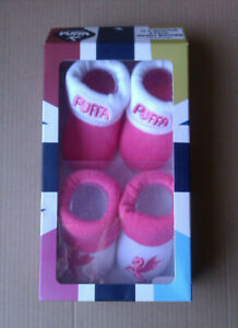Puffa Girls Infant Booties 0-6 Months 2 Pairs New
