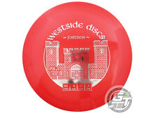New Westside Discs Tournament Fortress 172g Red Silver Foil Driver Golf Disc