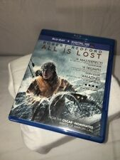 All Is Lost Blue Ray And DVD Combo. Like New