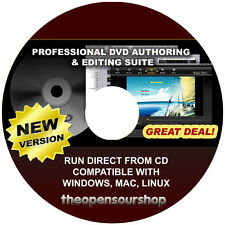 Pro DVD & movie making Pack de logiciels cd-créer photo & musique diapositives