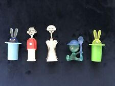 More details for alessi fridge magnets. 5 collectors pieces. brand new (not in packaging)