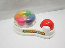 Vintage Disney Mickey Color Spin Ball Toy Cause & Effect Austism Therapy Infant