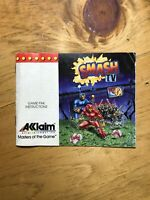 Zoda's Revenge Star Tropics II Nintendo NES Instruction Manual Booklet Only