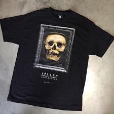 Sullen Art Collective Goethe Men's T-Shirt Skull Tattoo Art Graphic T-shirt, 3XL