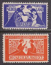 NVPH 134-135 Tooropzegels 1923 postfris (MNH)