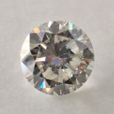 Clarity Round Cut Loose Moissanite For Ring Off White Color 1.19 Ct 6.74 Mm Vvs1