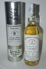 WHISKY SIGNATORY VINTAGE GLEN KEITH 1995 LIMITED EDITION 18 YEARS OLD 70cl.
