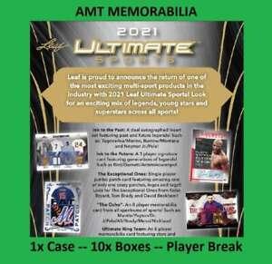 Troy Aikman 2021 Leaf Ultimate Multi-Sport 1X CASE 10X BOX BREAK #2